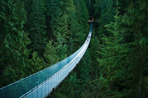 awesome,bridge,british columbia,Canada,capilano,capilano suspension bridge,getaways,north america,vancouver
