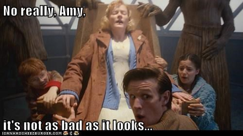 amy pond,christmas,doctor who,its-not-what-it-looks-like,Matt Smith,really,the doctor