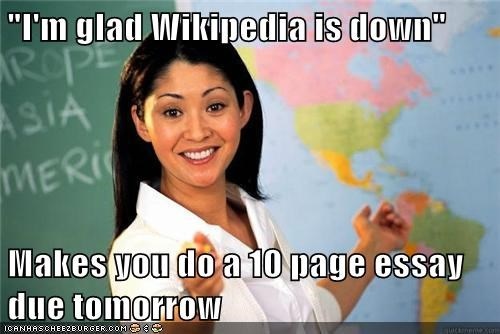 essay school Terrible Teacher wikipedia - 5710625280