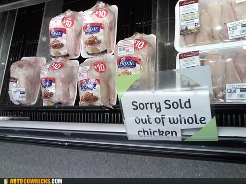 food grocery store irony laziness - 5710718208