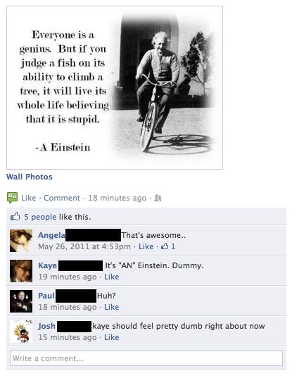 """""""AN"""" Einstein"""