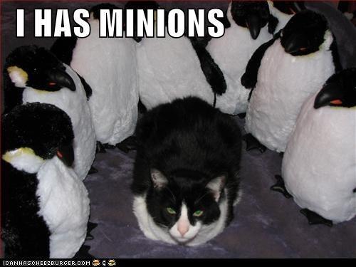 black and white classics minions penguins stuffed animals - 5711812864