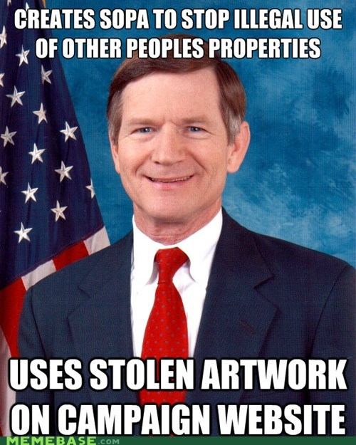 copyright Scumbag Steve senator SOPA - 5711932928
