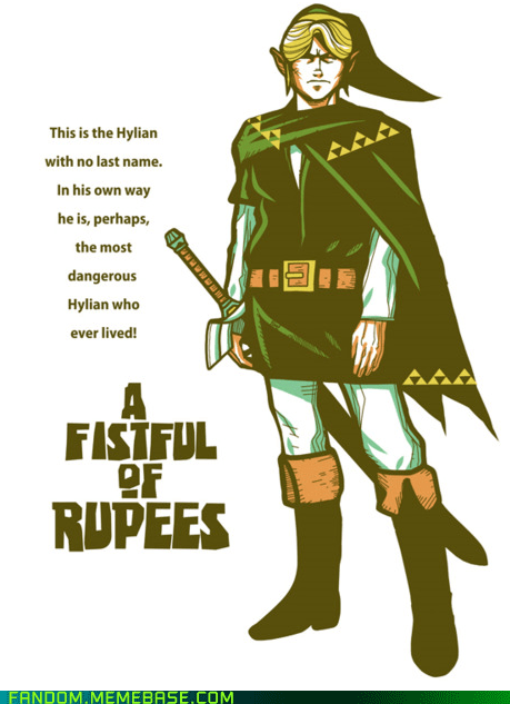 a fistful of dollars best of week Clint Eastwood crossover Fan Art legend of zelda - 5711934720