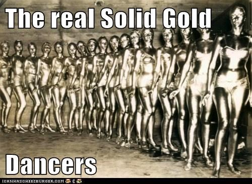 dancers historic lols Mannequins Solid Gold - 5712338176