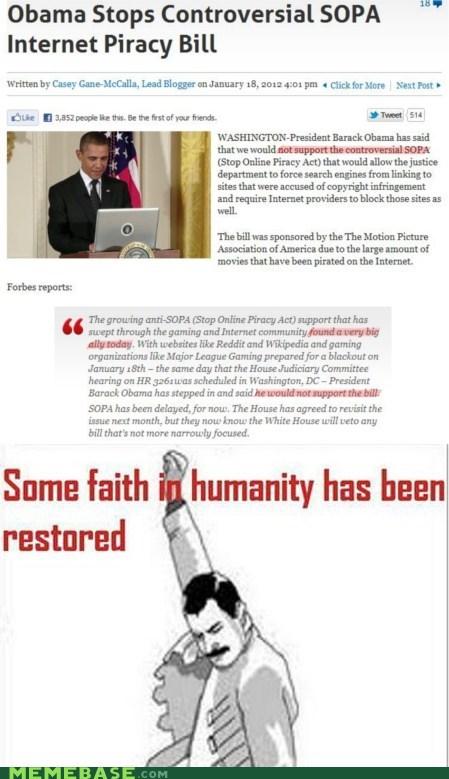america blackout Memes new obama SOPA - 5712534784