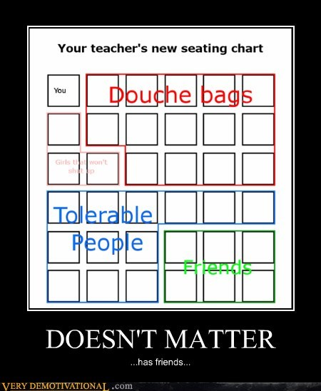 class,friends,hilarious,seating chart