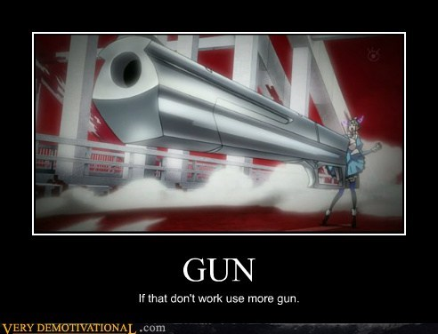 anime,guns,hilarious,huge,wtf