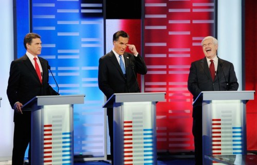 2012 Presidential Race Another One Down Mitt Romney newt gingrich Rick Perry Rick Santorum - 5713891072