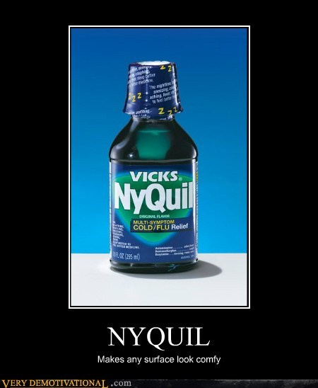 drowsy hilarious medicine nyquil vicks - 5714407936