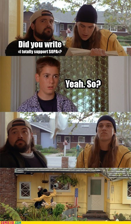 jay and silent bob,PIPA,SOPA,the internets