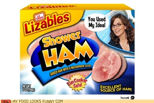 30 rock,cooking,ham,lizables,shower