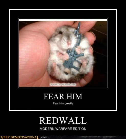 REDWALL MODERN WARFARE EDITION