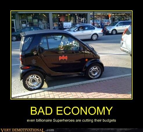 bad batman economy hilarious smart car wtf - 5714841856