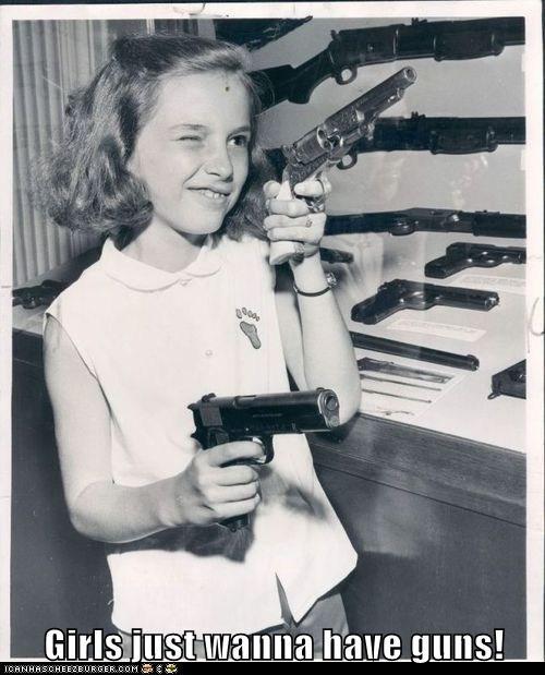 funny girl gun historic lols kid Photo weapon - 5714977536