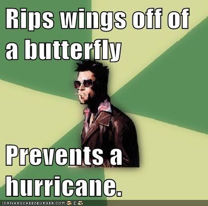 ashton kutcher butterfly butterfly effect Disruptive Durden hurricane - 5714984960
