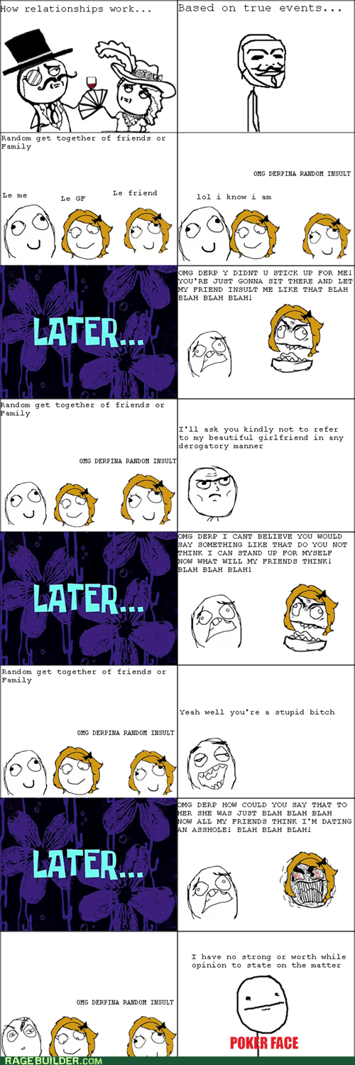 defense sir poker face Rage Comics relationships - 5715266816