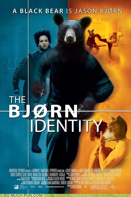 bjorn bourne franchise Hall of Fame literalism lolwut Movie name scandinavia similar sounding the bourne identity trilogy - 5715355136