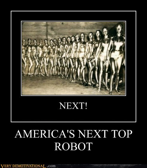 america hilarious model robot