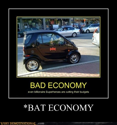 bad batman economy hilarious smart car - 5715597312