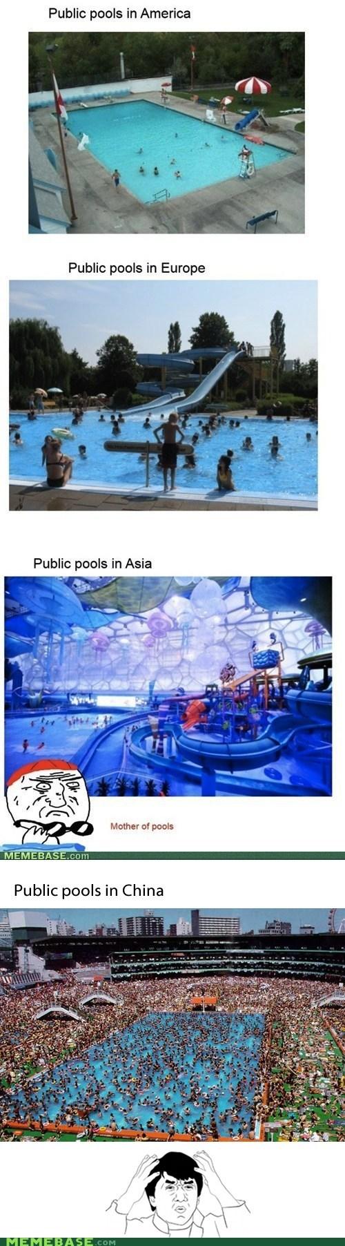 america,China,Memes,pools,Reframe