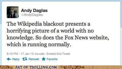 best of week,blackout,fox news,SOPA,wikipedia