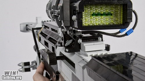 halo lego nerdgasm rifle sci fi - 5716118528