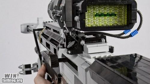 halo lego nerdgasm rifle sci fi - 5716118528