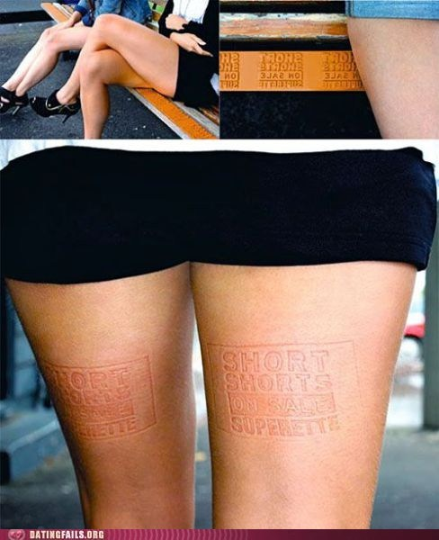 clever bench sales pitch short shorts - 5716123648