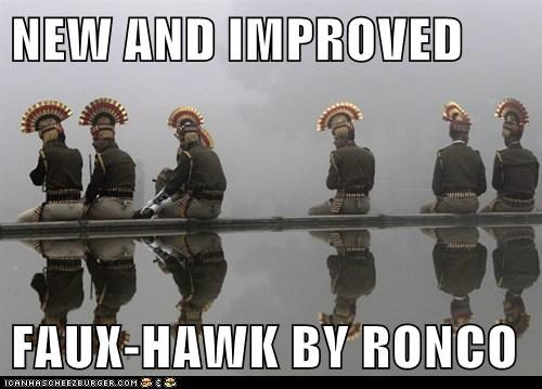 NEW AND IMPROVED FAUX-HAWK BY RONCO