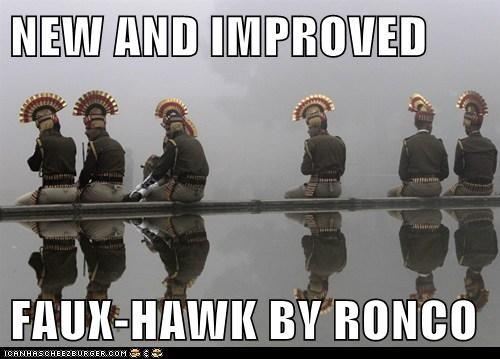 faux hawk hat infomercial mohawk - 5716161280