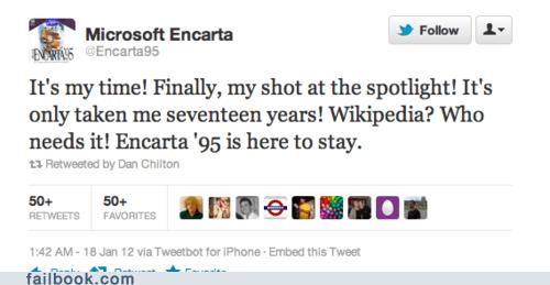encarta microsoft PIPA SOPA twitter win - 5716193280