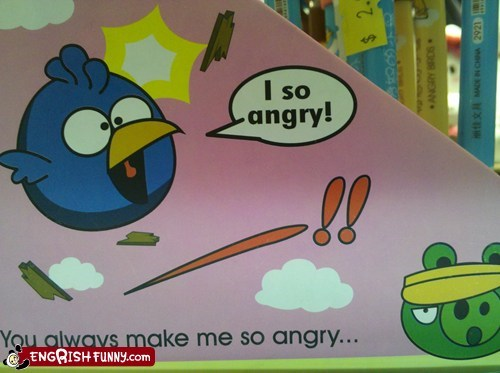 angry birds,knock offs,not the same