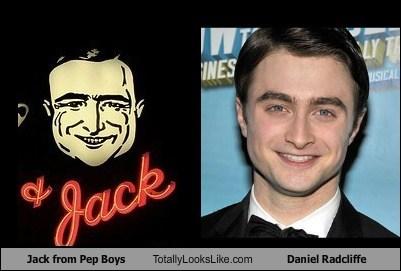 Daniel Radcliffe,funny,jack,pep boys,TLL