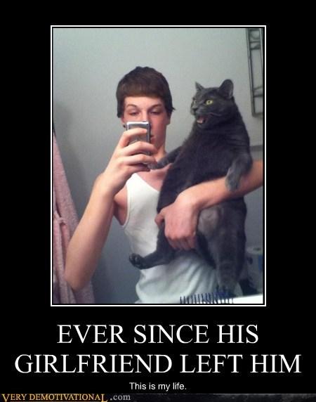 cat girlfriend life Sad - 5716870656