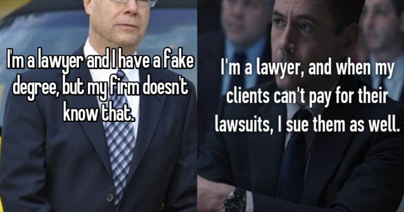 lawyers that might be criminals