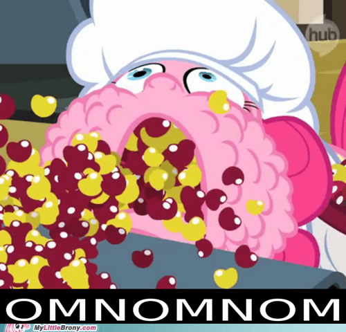 i love lucy omnomnom pinkie pie TV yum - 5717380608