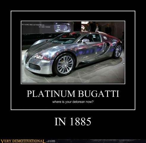 bugatti DeLorean Pure Awesome time machine