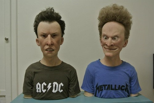 beavis and butt-head,Kevin Kirkpatrick,Sick Sculptures