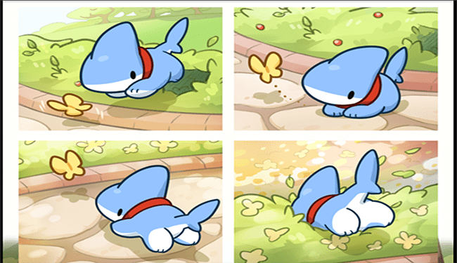 Webcomic of the adventures of shark puppy