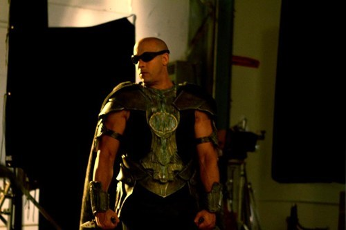 chronicles of riddick,movies,riddick,set photos,vin diesel