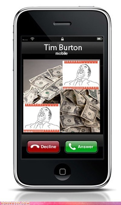funny Johnny Depp tim burton - 5718657024