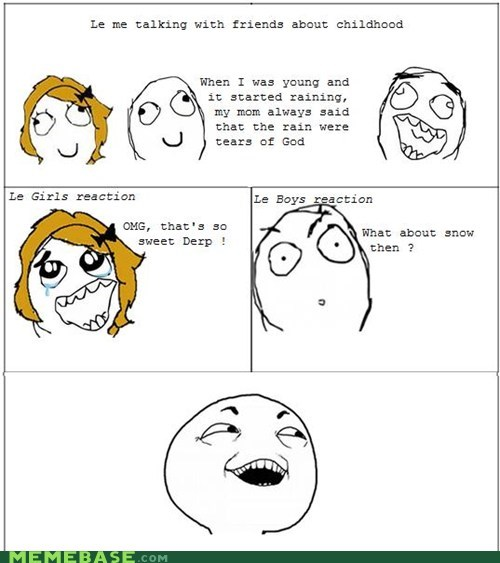 I see what you did there Rage Comics snow that sounds naughty - 5718730752