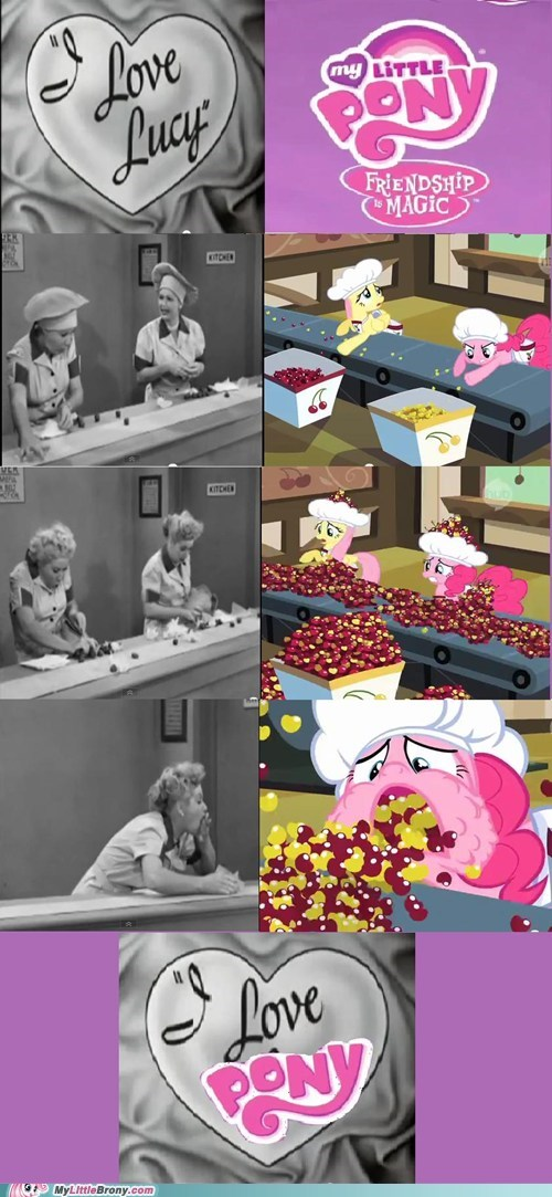 awesome,homage,i love lucy,i love ponies,new episode,TV