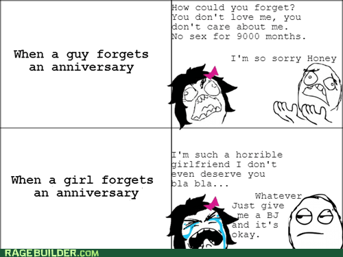 men vs women Rage Comics relationships sexytimes - 5719354368