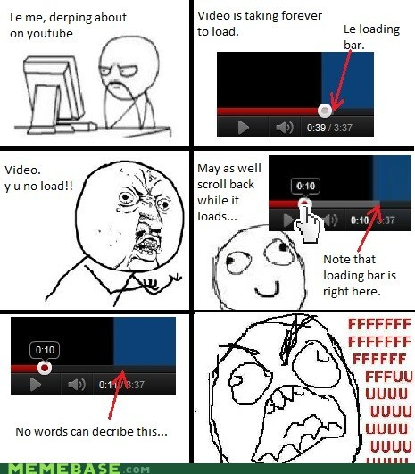 fu guy Rage Comics Y U No Guy youtube