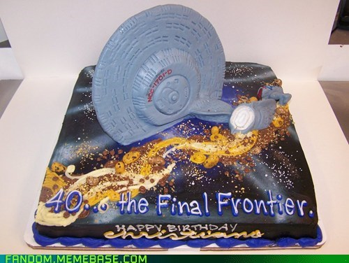 birthday,cake,Fan Art,Star Trek