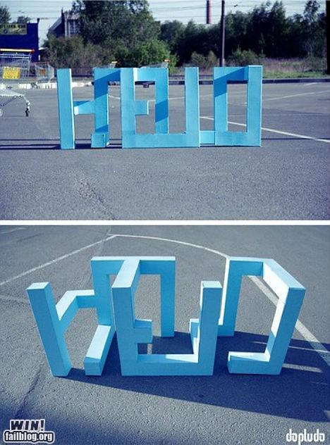 art design hello hello world perspective - 5719680256