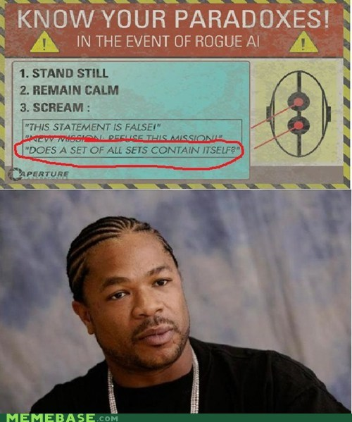 paradox,Portal,sets,video games,yo dawg