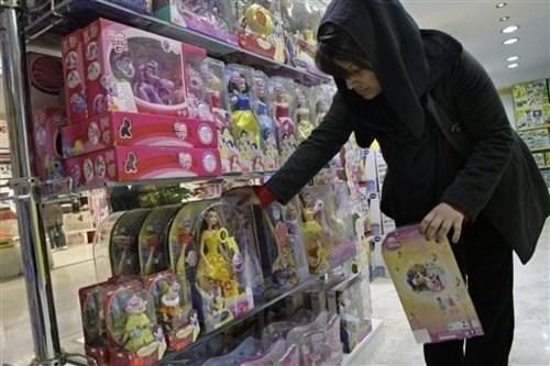 Barbie Ban,iran,Morality Police